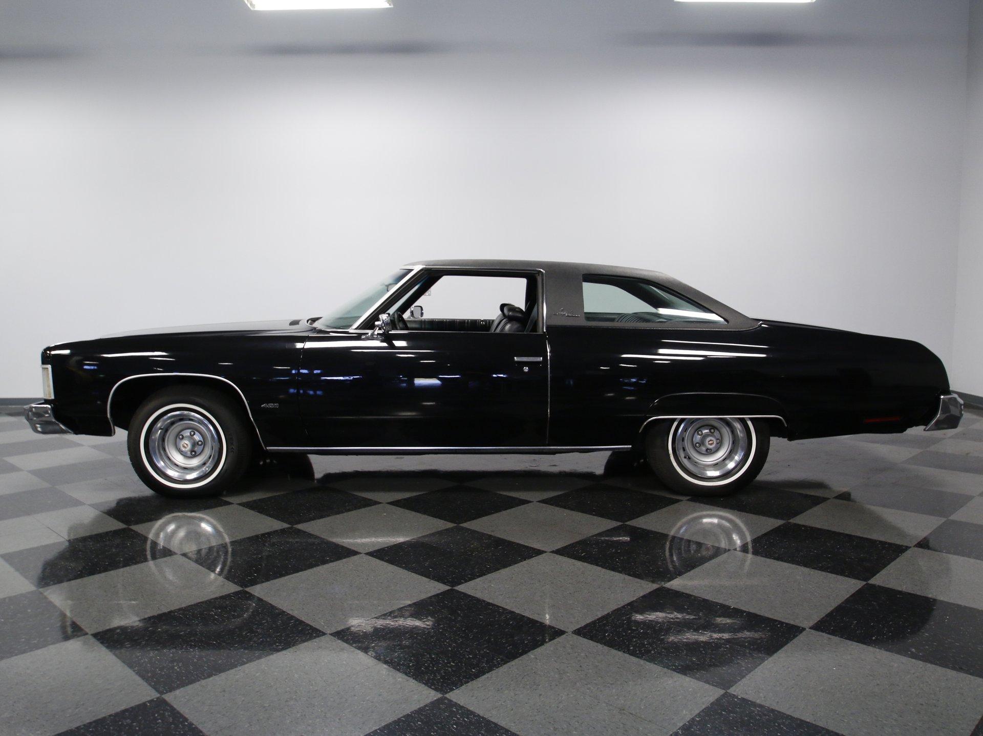 1974 chevrolet impala custom coupe