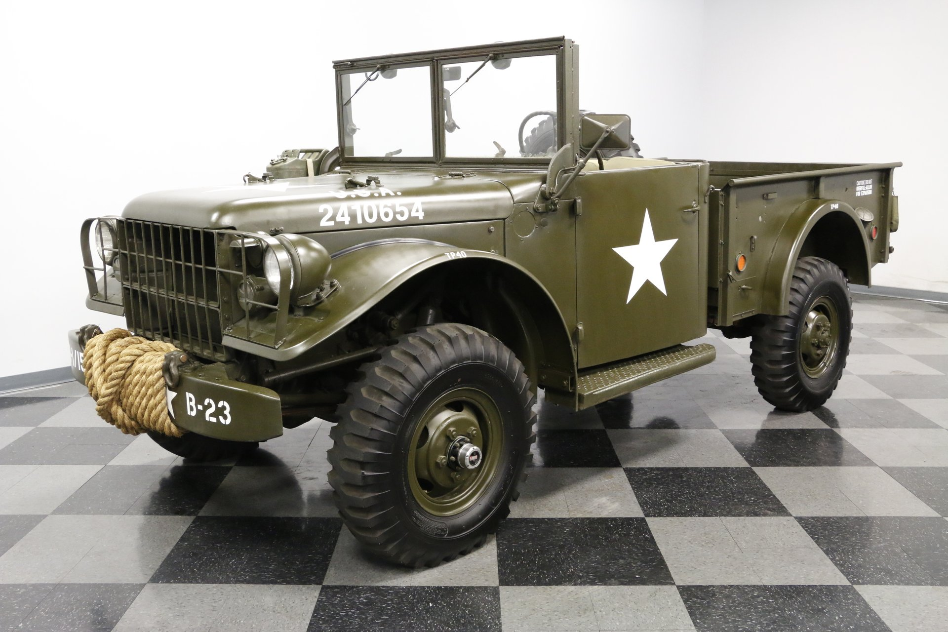 1952 Dodge M37 Power Wagon | Streetside Classics - The Nation's
