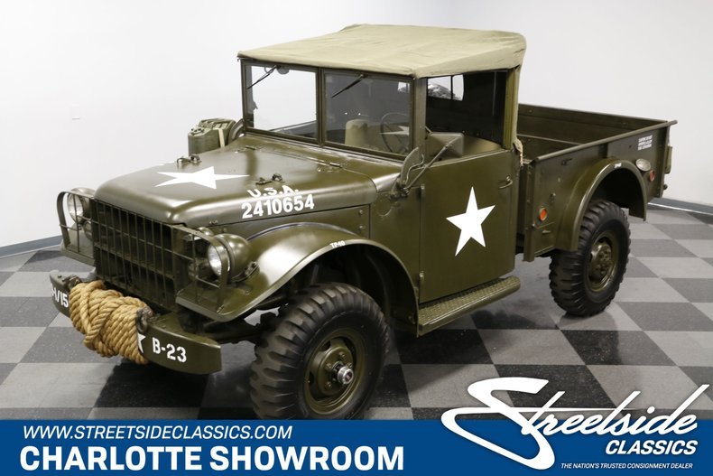For Sale: 1952 Dodge M37 Power Wagon