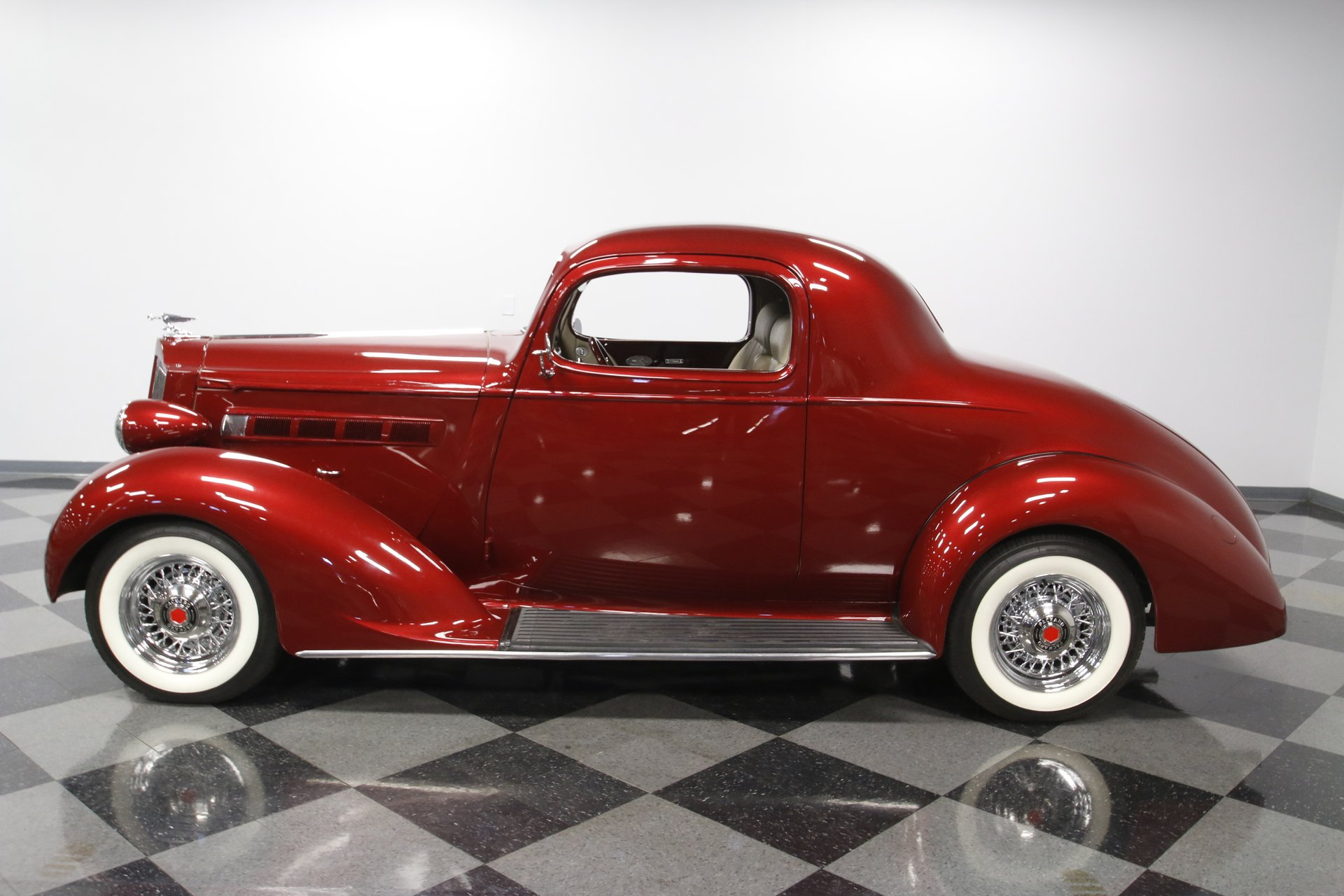 1937 packard business coupe restomod