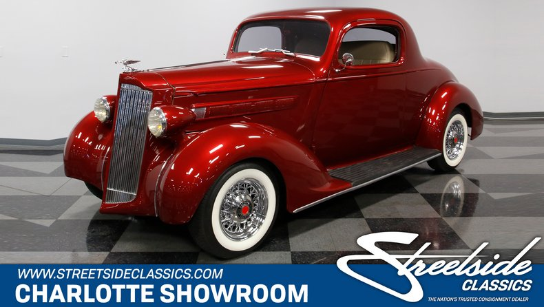 For Sale: 1937 Packard Business Coupe
