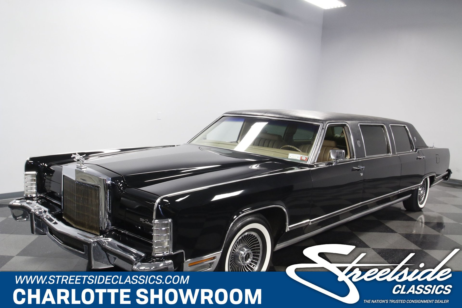 1979 lincoln continental limousine