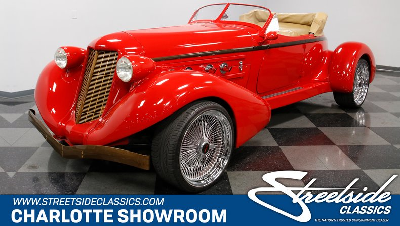 For Sale: 1936 Auburn Boattail