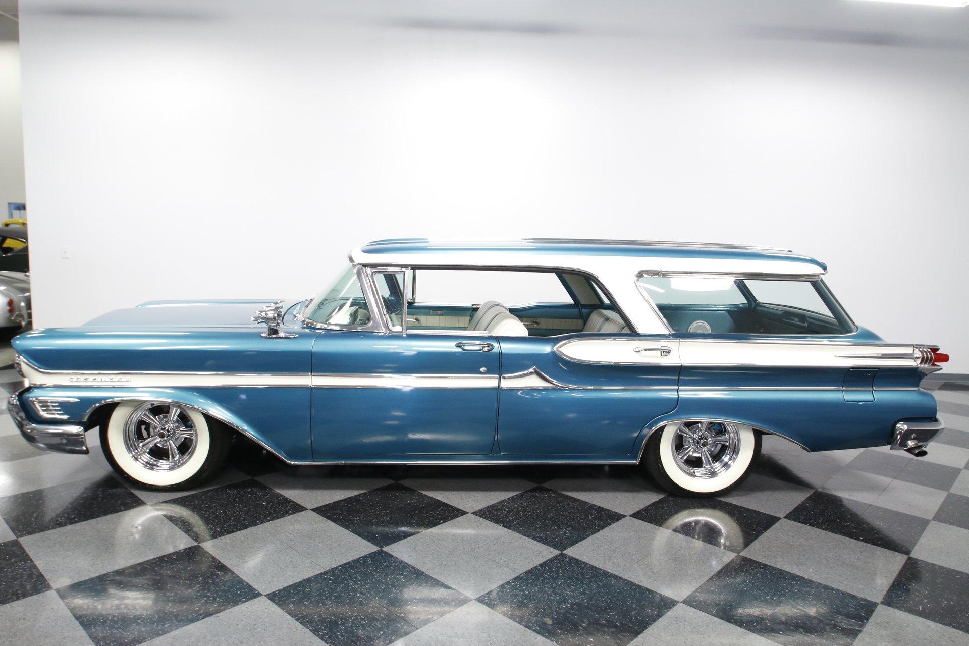 1958 mercury commuter 6 passenger hardtop wagon