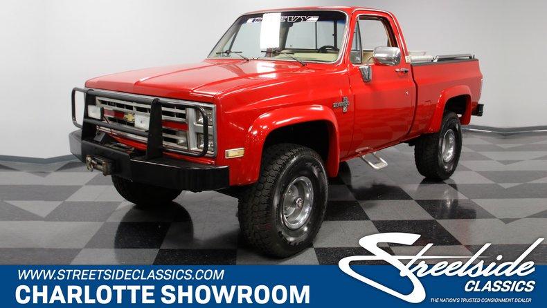 1985 Chevrolet K-10 For Sale