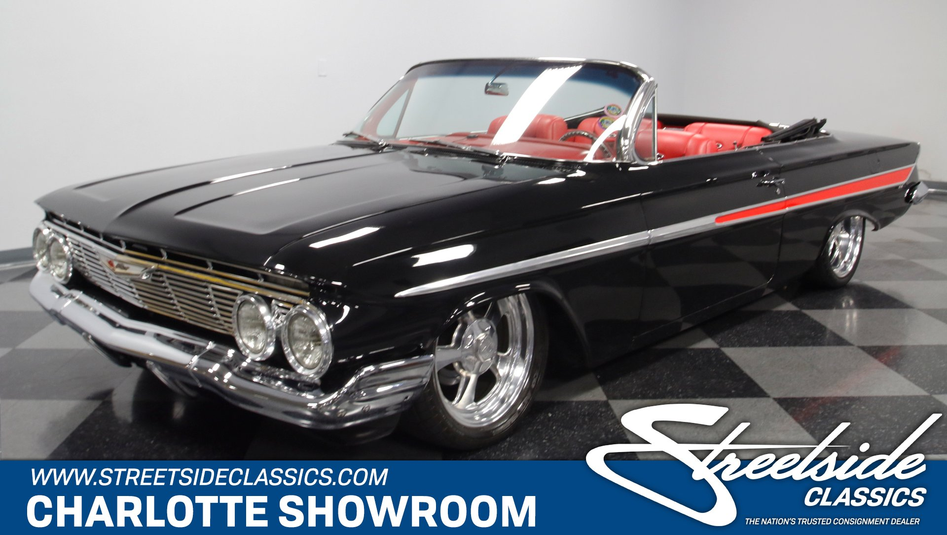 1961 chevrolet impala restomod