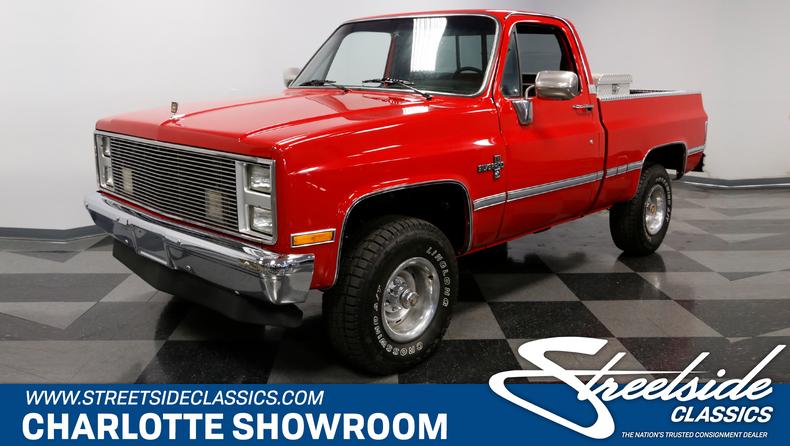 For Sale: 1986 Chevrolet K-10