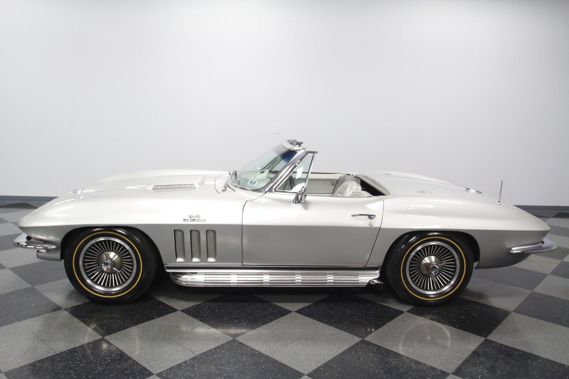 1966 chevrolet corvette l36 convertible
