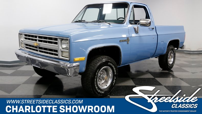 1985 Chevrolet K 10 Streetside Classics The Nation S