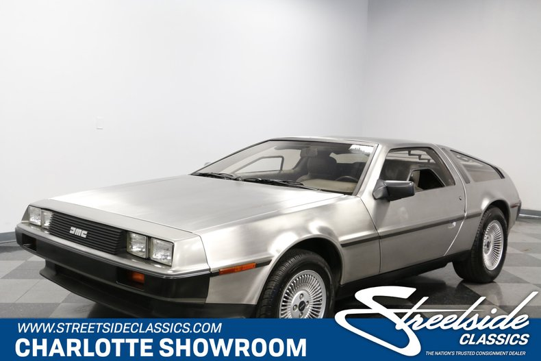 For Sale: 1981 DeLorean DMC-12