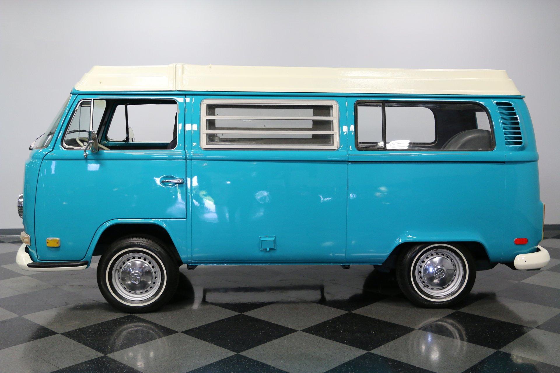 1972 volkswagen westfalia van