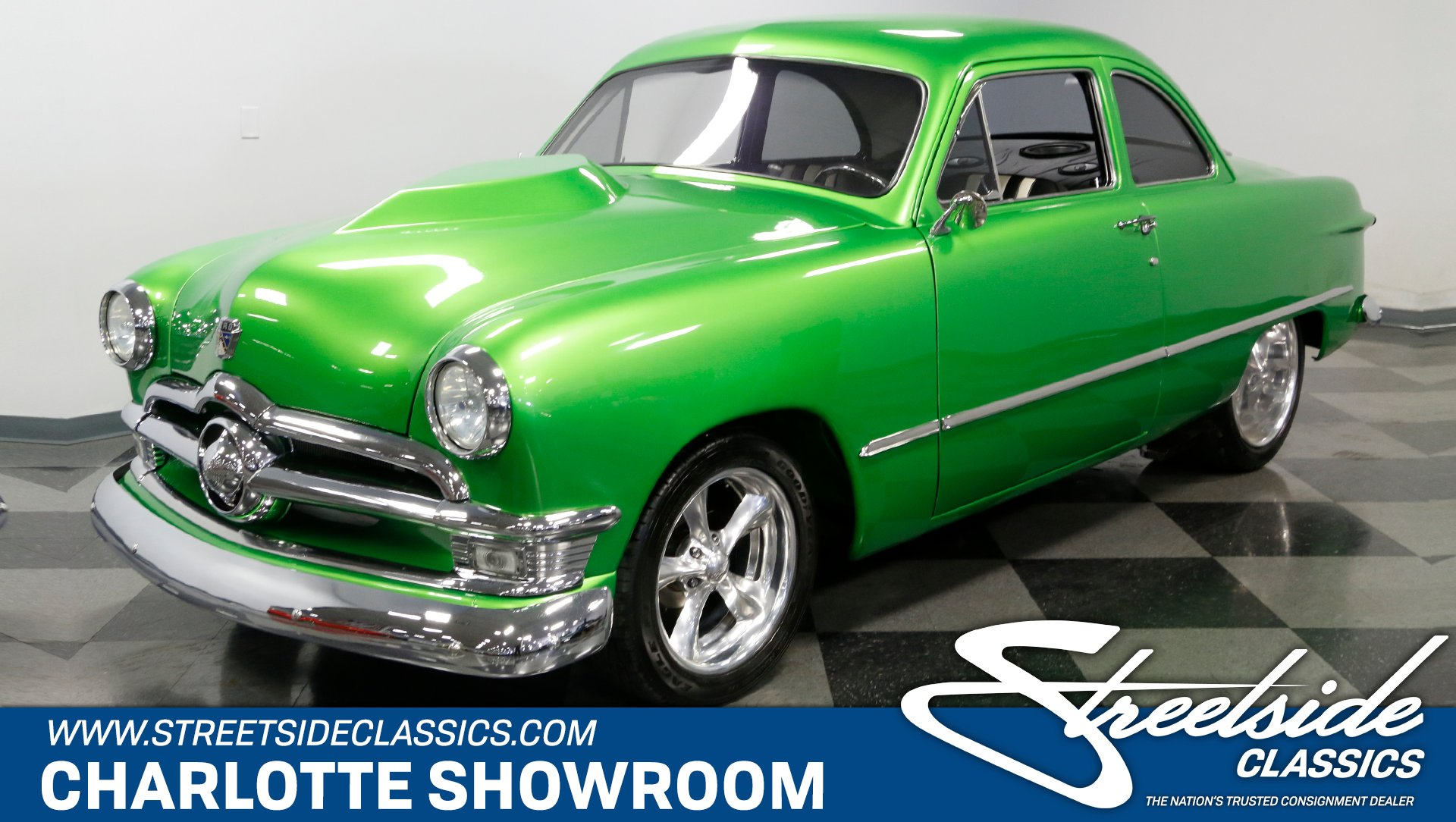 1950 ford business coupe pro street