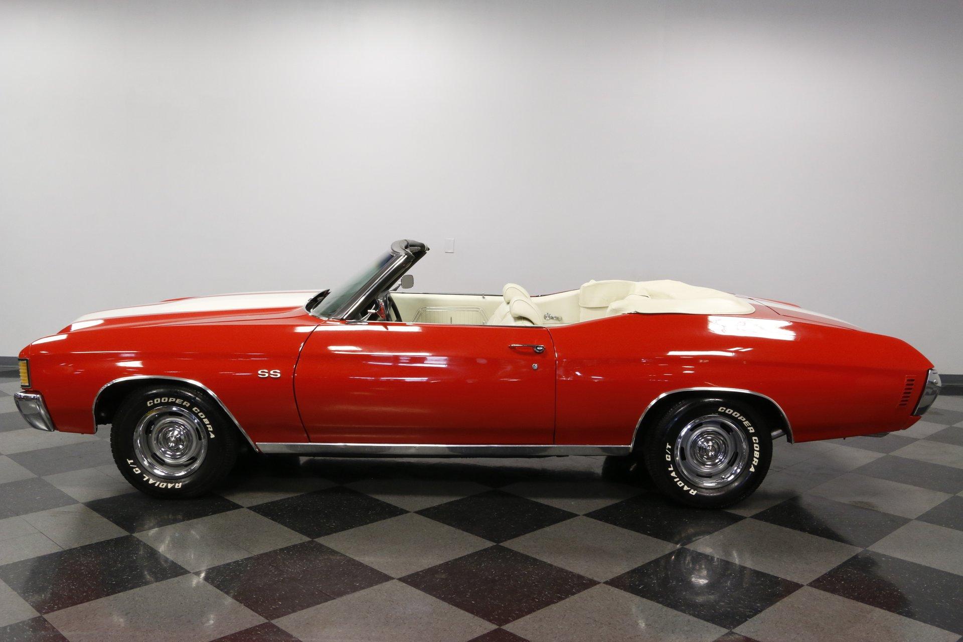 1972 chevrolet chevelle ss convertible
