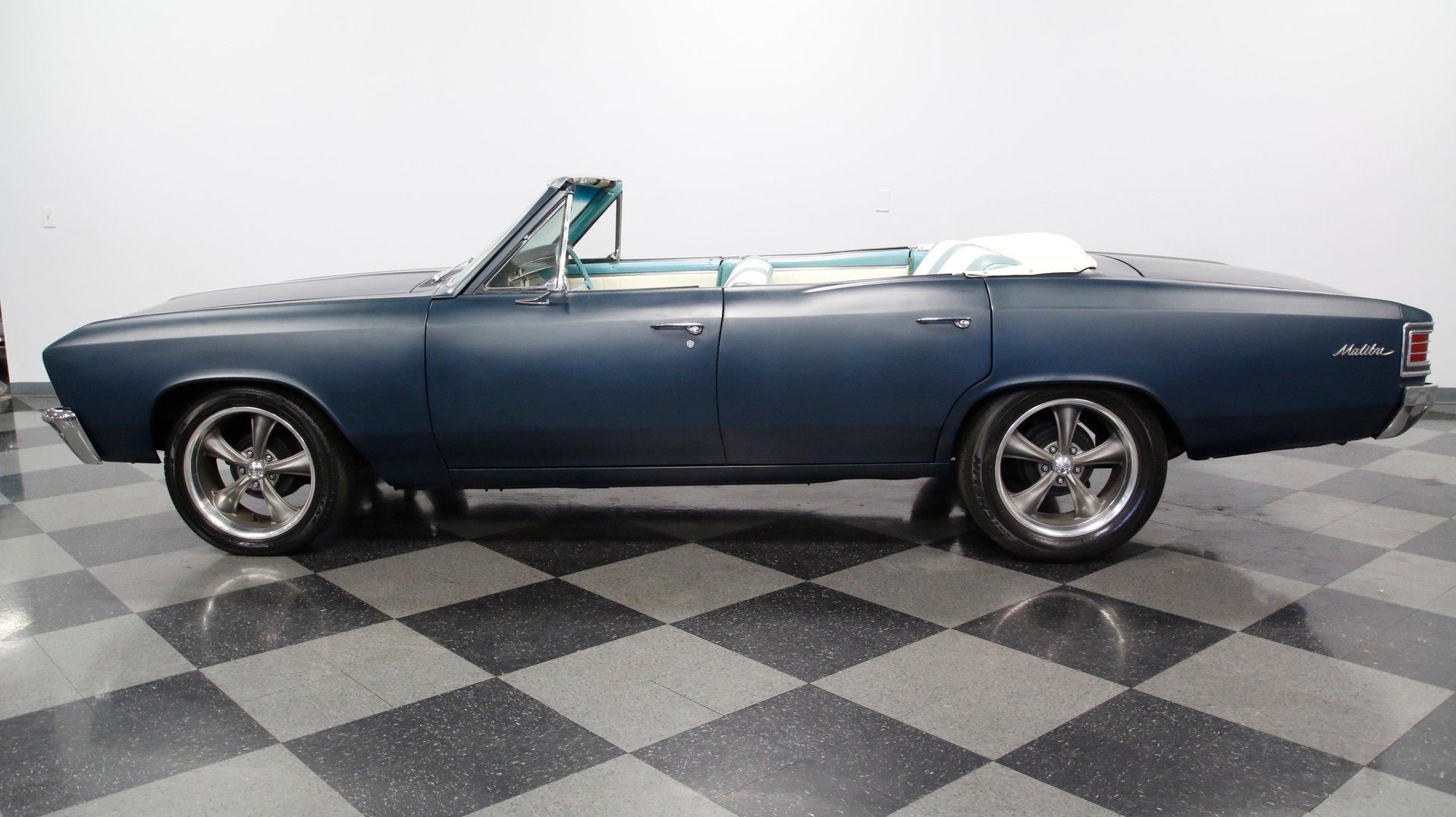 1967 chevrolet chevelle malibu topless roadster