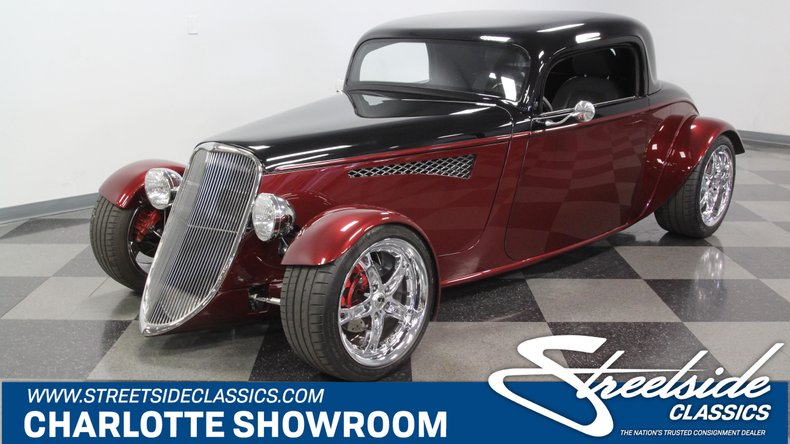 For Sale: 1933 Ford 3-Window