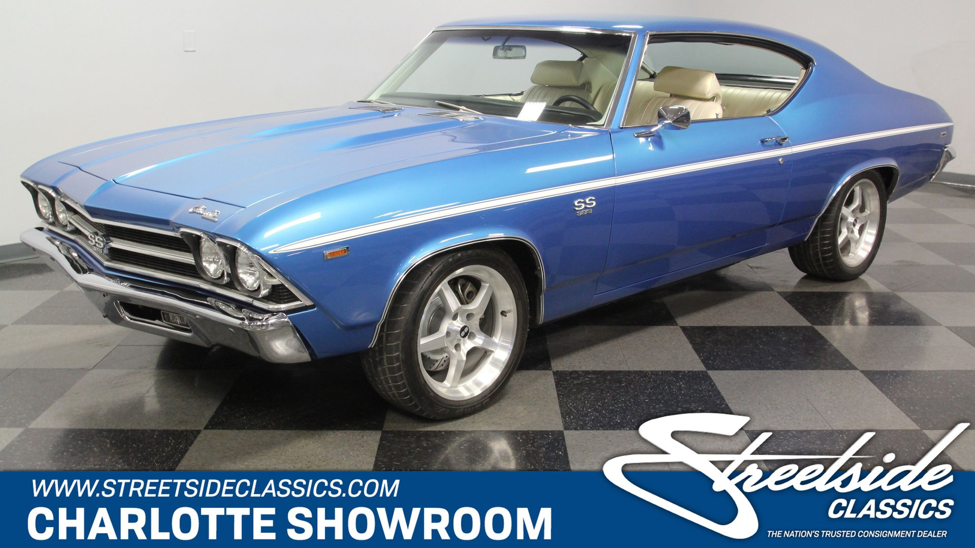 1969 chevrolet chevelle ss 502 pro touring