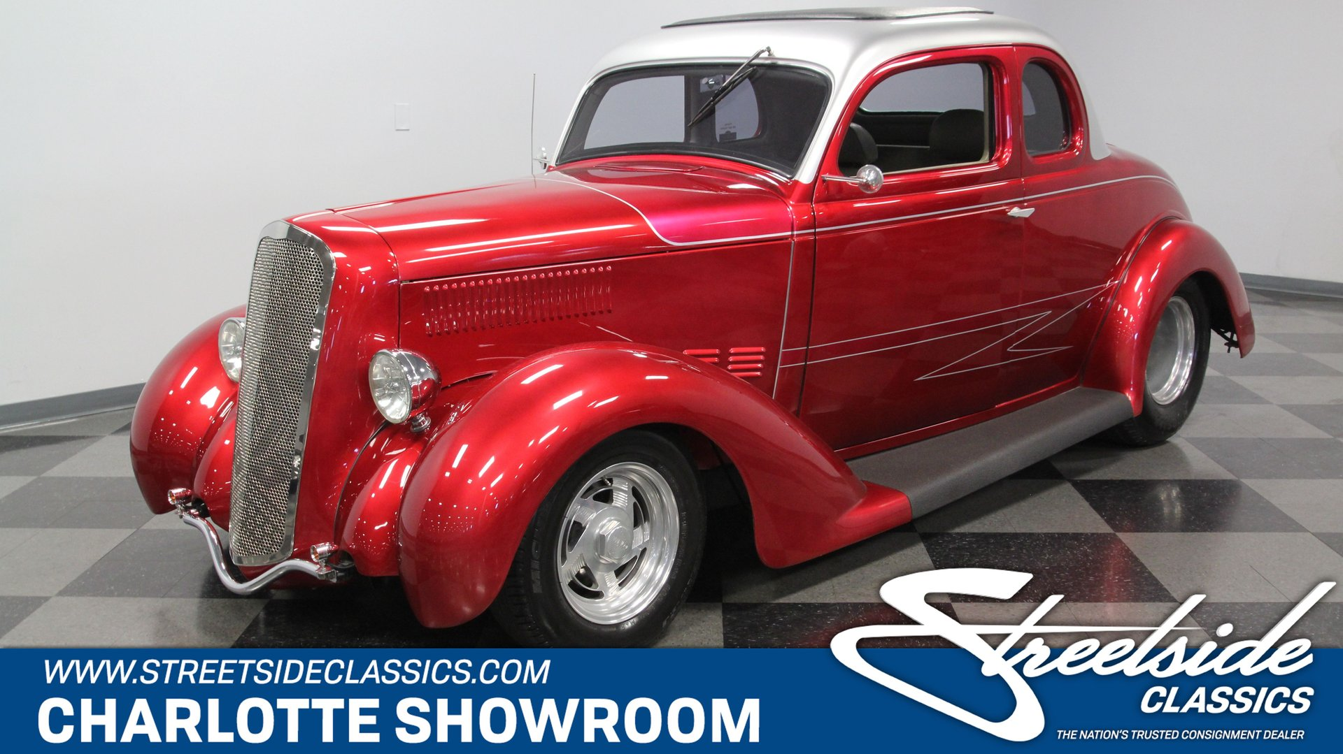 1936 plymouth business coupe pro street
