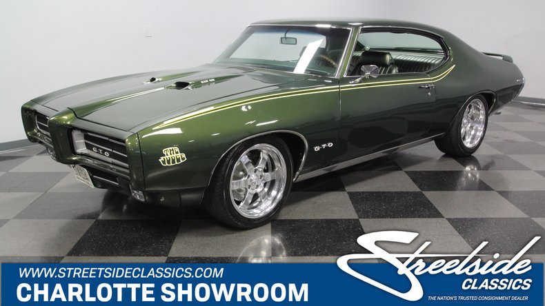 1969 pontiac gto streetside classics the nation s trusted