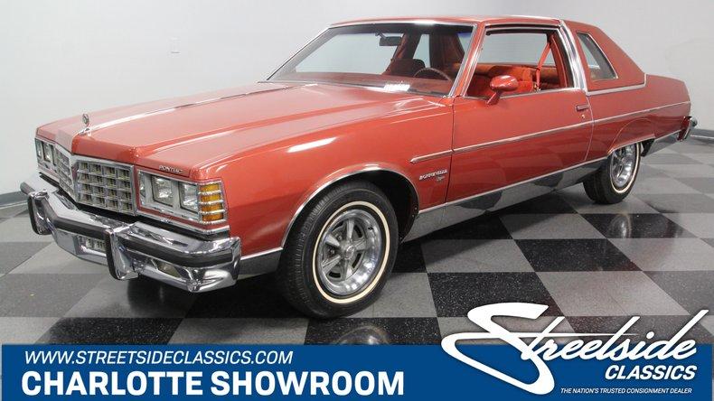 For Sale: 1977 Pontiac Bonneville