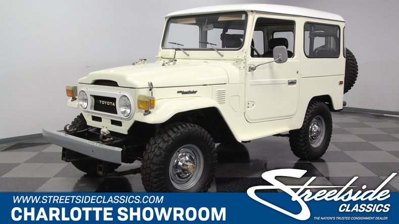 For Sale: 1976 Toyota Land Cruiser