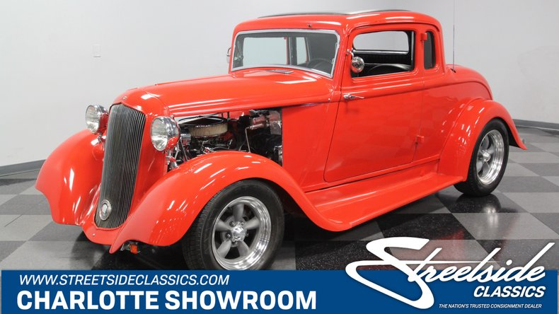 For Sale: 1933 Plymouth 5-Window Coupe