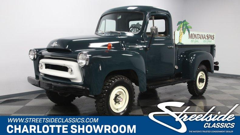 For Sale: 1957 International Harvester 4x4 Pickup