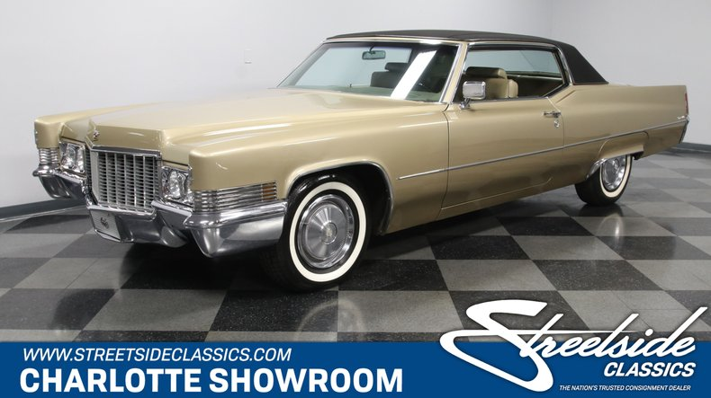 For Sale: 1970 Cadillac Coupe DeVille