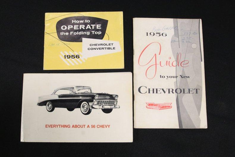 1956 Chevrolet Bel Air 74