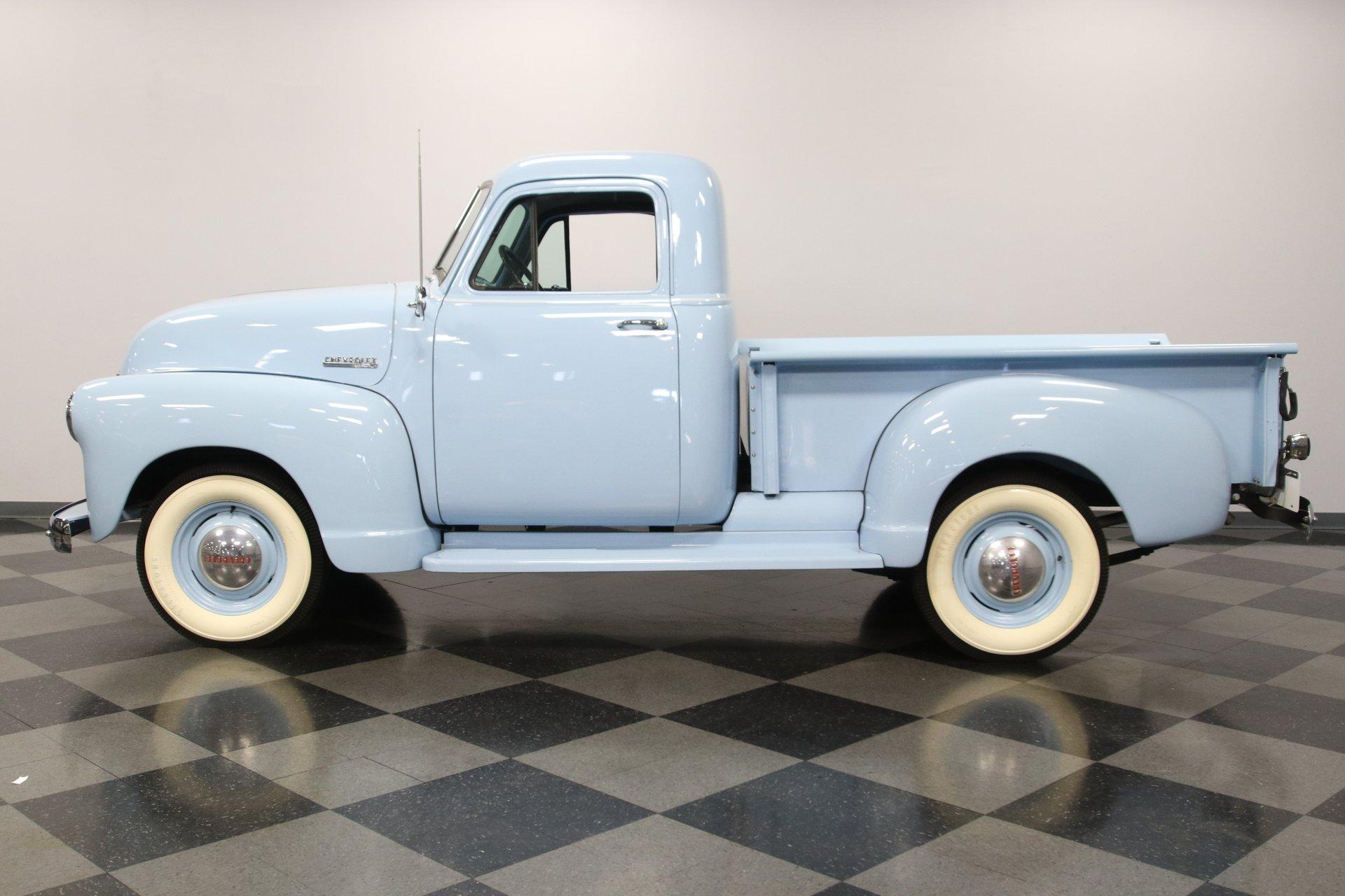 1952 chevrolet 3100 1 2 ton