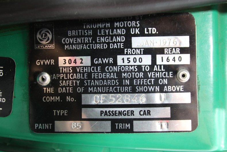 1976 Triumph TR6 65