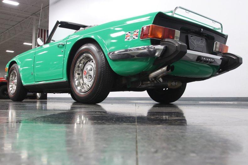 1976 Triumph TR6 28