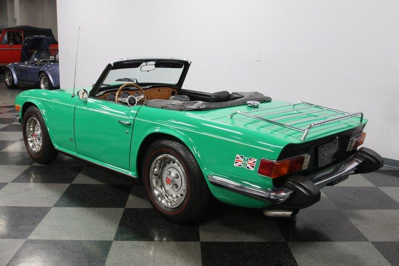 1976 Triumph TR6 9