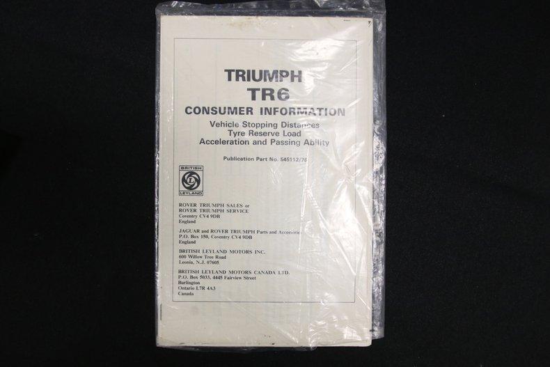 1976 Triumph TR6 74