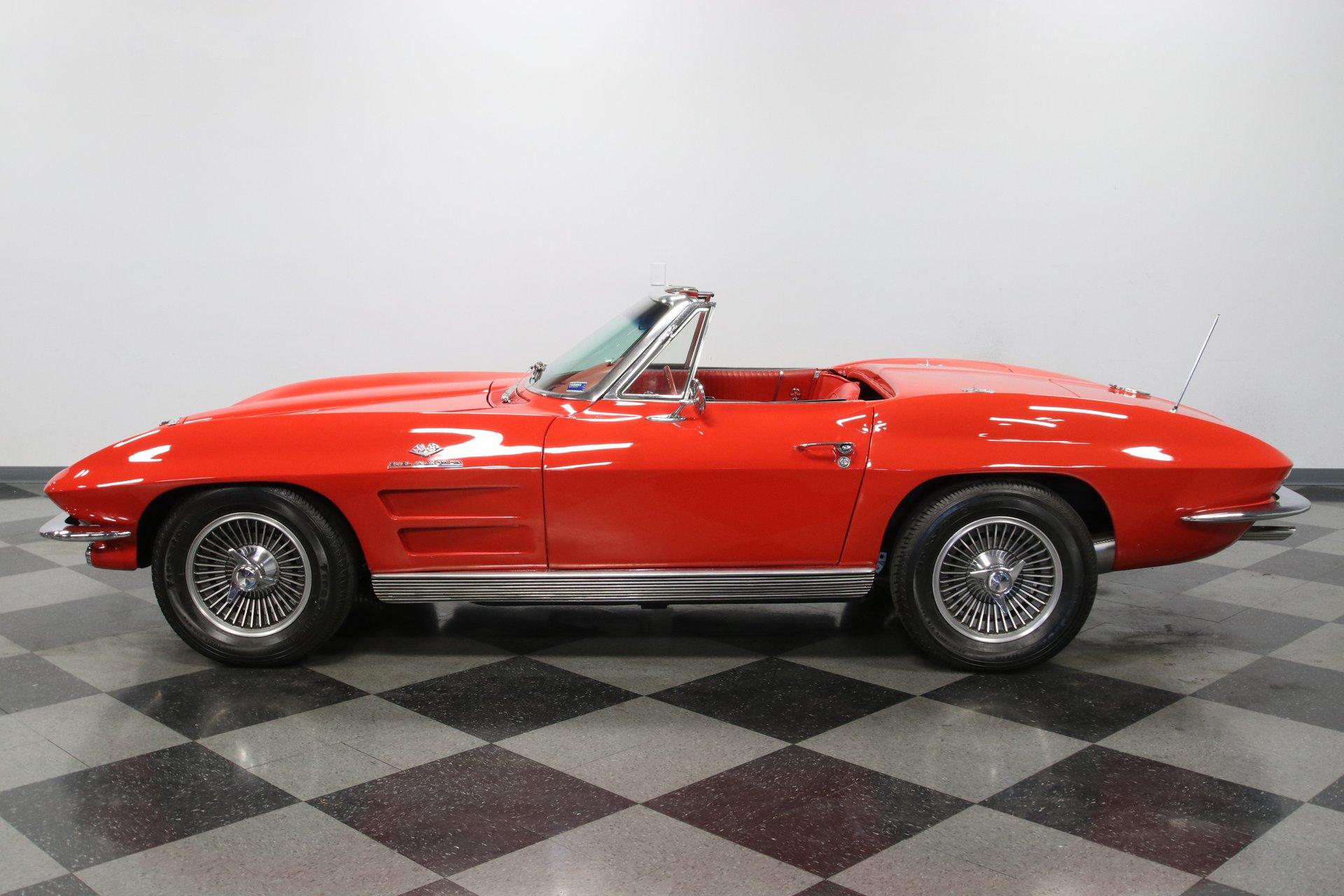 1963 chevrolet corvette fuelie convertible