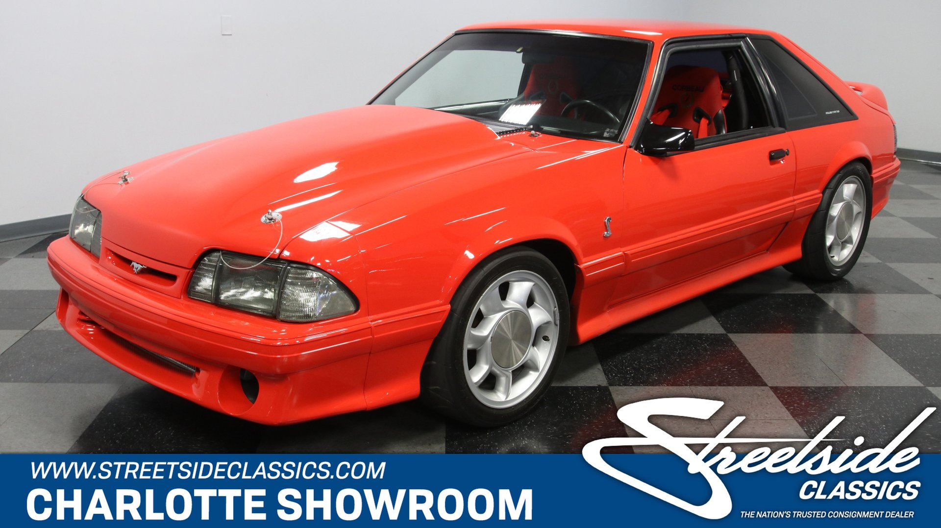 1993 ford mustang svt cobra supercharged for sale 168308 motorious