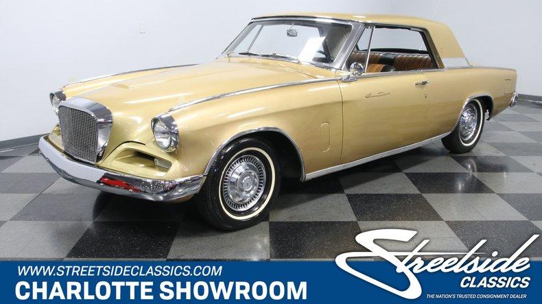 For Sale: 1962 Studebaker Hawk