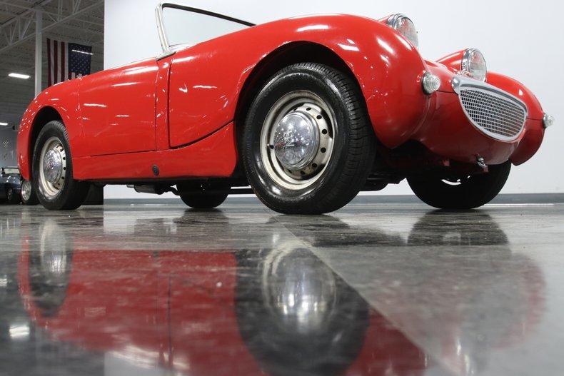 1958 Austin Healey Sprite 39