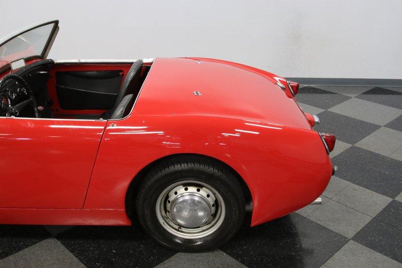 1958 Austin Healey Sprite 29