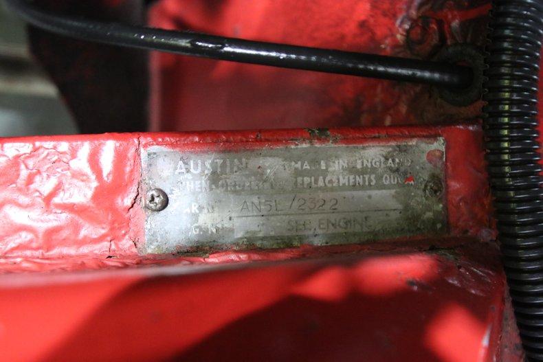 1958 Austin Healey Sprite 63
