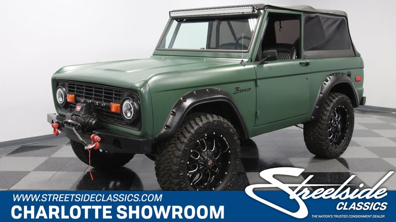 For Sale: 1972 Ford Bronco