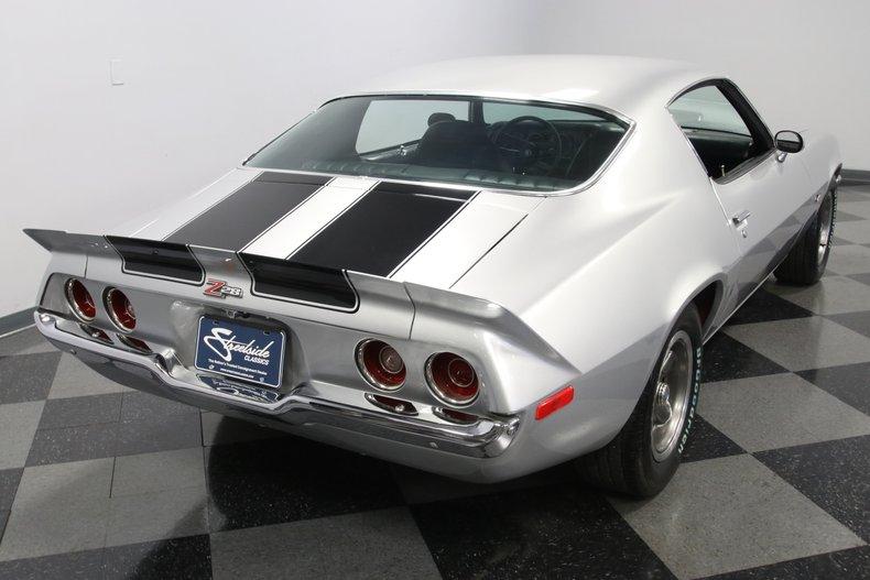1971 Chevrolet Camaro 12