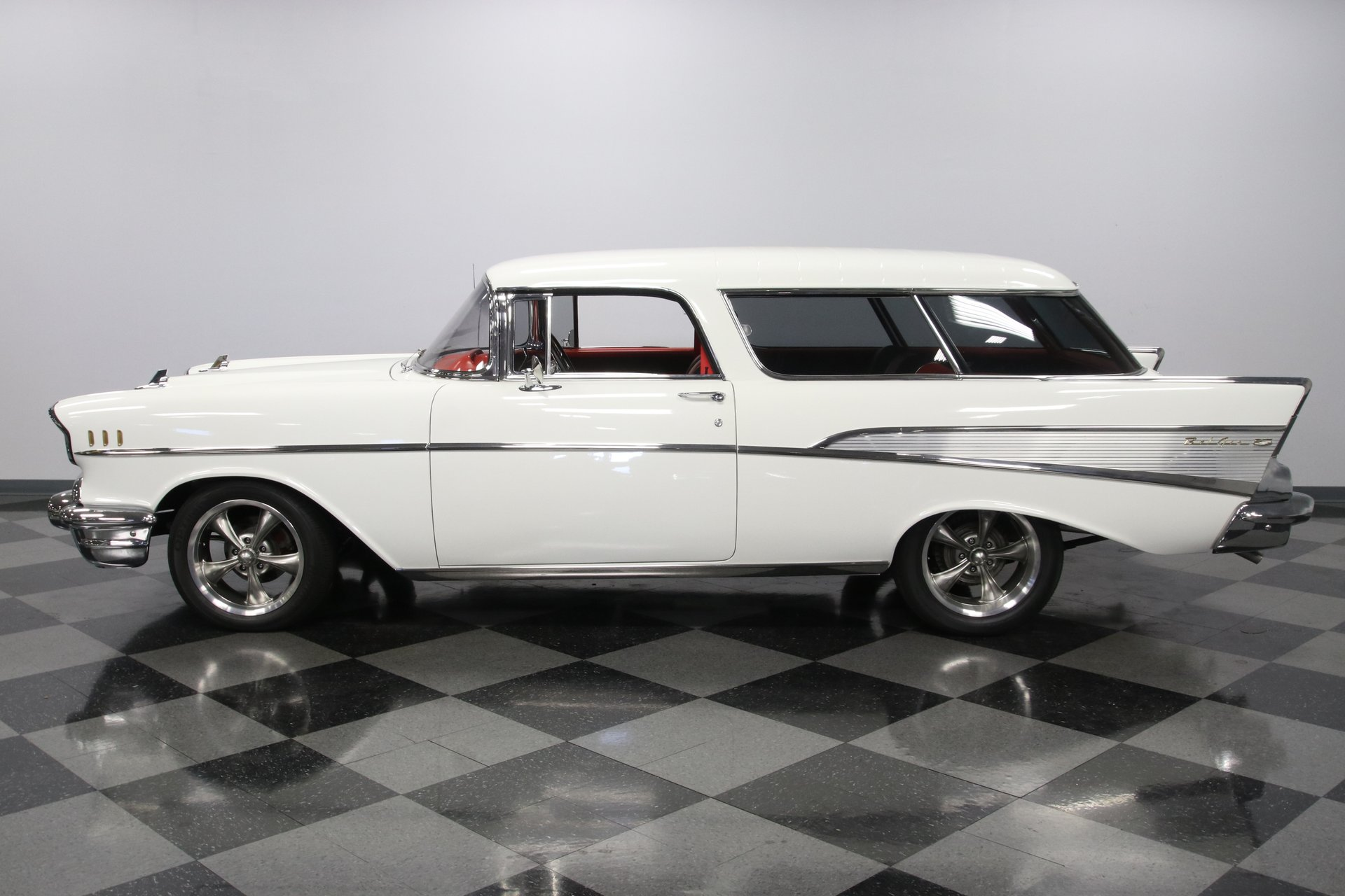 1957 chevrolet bel air nomad restomod