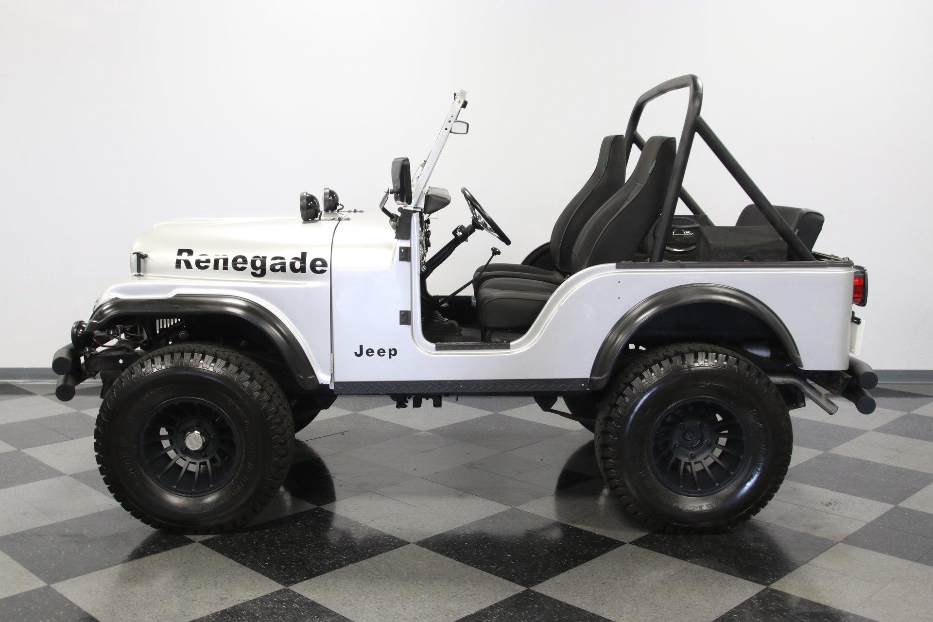 1971 jeep cj5 4x4 renegade