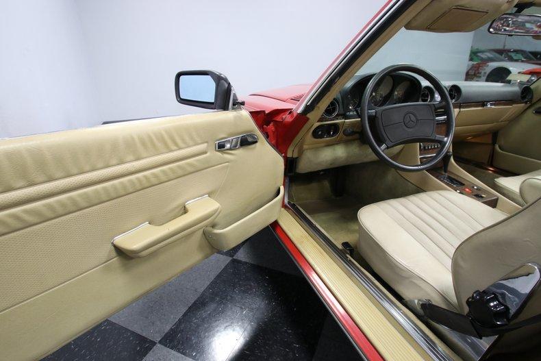 1987 Mercedes-Benz 560SL 51