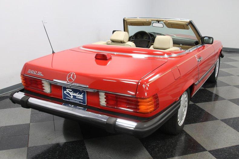 1987 Mercedes-Benz 560SL 12