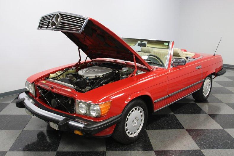 1987 Mercedes-Benz 560SL 43