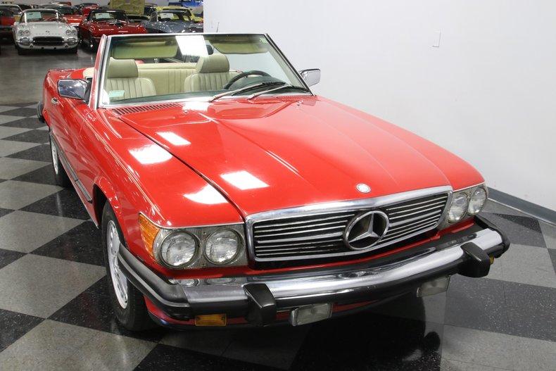 1987 Mercedes-Benz 560SL 18