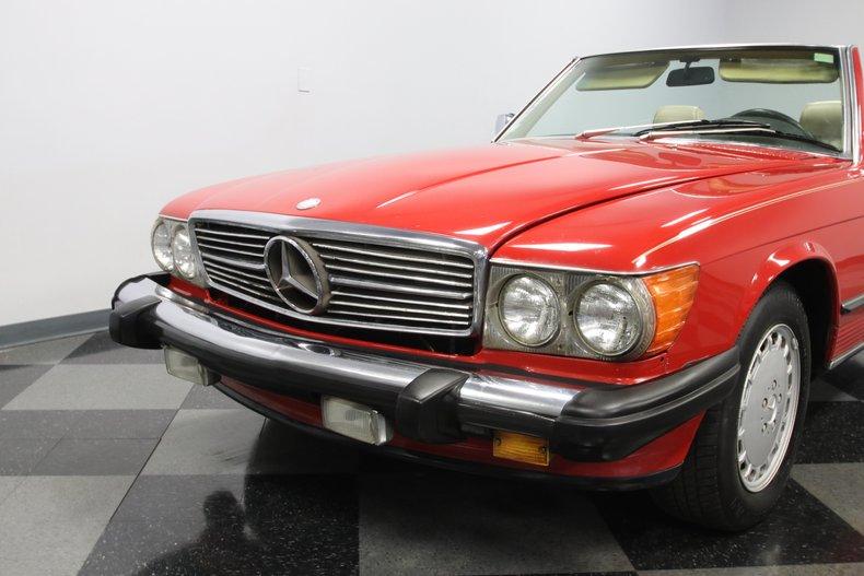 1987 Mercedes-Benz 560SL 25