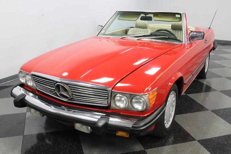 1987 Mercedes-Benz 560SL 20