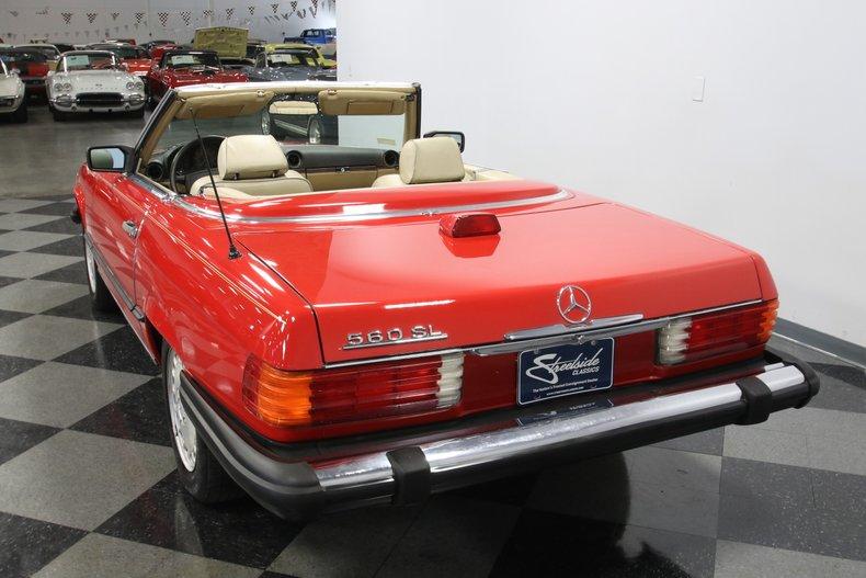 1987 Mercedes-Benz 560SL 10